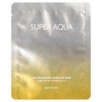 MISSHA Super Aqua Cell Renew Snail Hydro-Gel Mask   $6.00