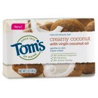 Tom's of Maine Creamy Coconut Natural Bar Soap - 5oz   $3.99